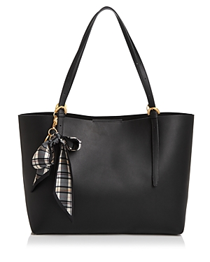 Zac Zac Posen Solid Posen Extra Large Leather Tote-Handbags