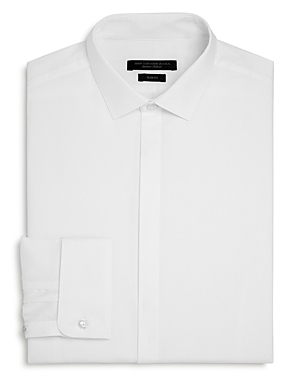 John Varvatos Star Usa Baxter Cotton-Blend Regular Fit Dress Shirt