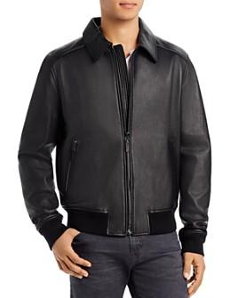 Bally - Regular Fit Leather Jacket