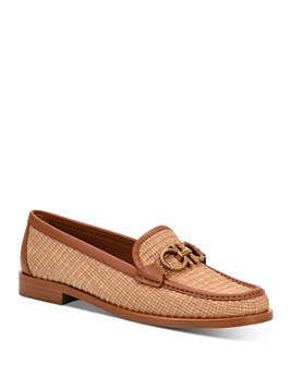 Salvatore Ferragamo - Women's Embellished Slip On Loafer Flats