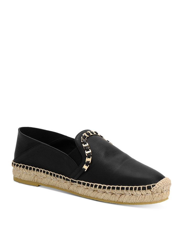 Salvatore Ferragamo - Women's Embellished Slip On Espadrille Flats