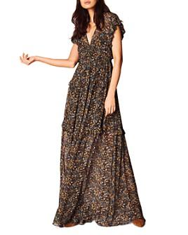 ba&sh - Samanta Botanical Maxi Dress