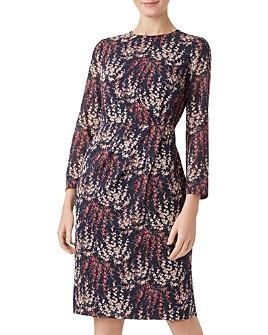 HOBBS LONDON - Trina Floral Sheath Dress