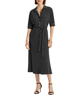 Ralph Lauren - Belted Midi Shirt Dress