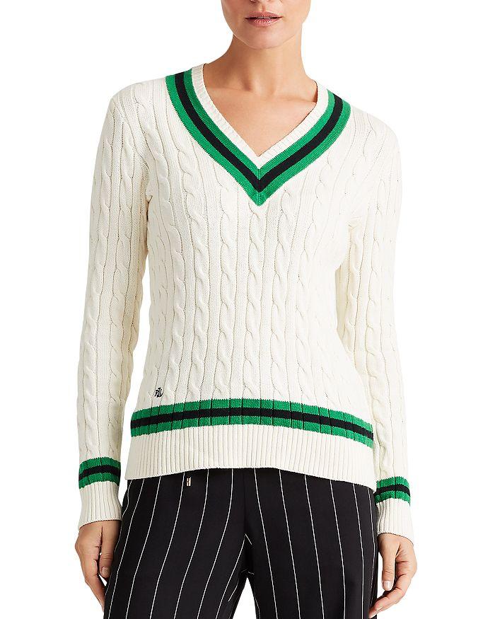 Ralph Lauren - Color-Block Cricket Sweater