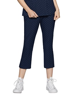 BCBGENERATION - High-Rise Cropped Flare Pants