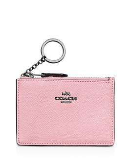 COACH - Mini Skinny ID Case in Crossgrain Leather