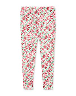 Ralph Lauren - Girls' Floral Cotton Stretch Jersey Leggings - Big Kid