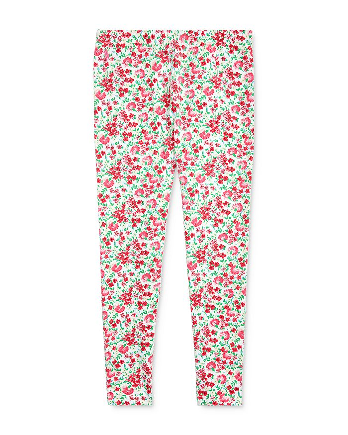 Ralph Lauren - Girls' Floral Cotton Stretch Jersey Leggings - Big Kid