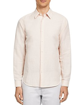 Theory - Irving Essential Linen Twill Button-Down Shirt