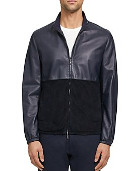 Theory - Nathan Lite Nappa Leather Regular Fit Jacket