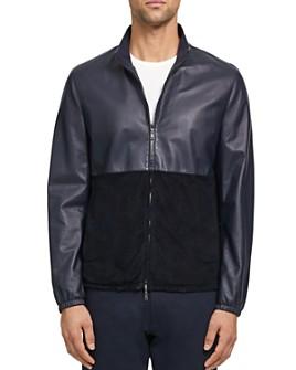 Theory - Nathan Packable Nappa Regular Fit Jacket