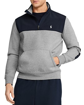 Polo Ralph Lauren - Hybrid Colorblocked Half-Zip Sweatshirt