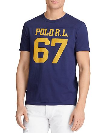 Polo Ralph Lauren - Cotton Logo Graphic Custom Slim Fit Tee