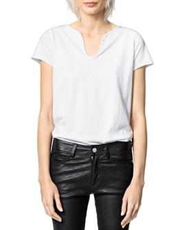 Zadig & Voltaire - Photo Graphic Cotton T-Shirt