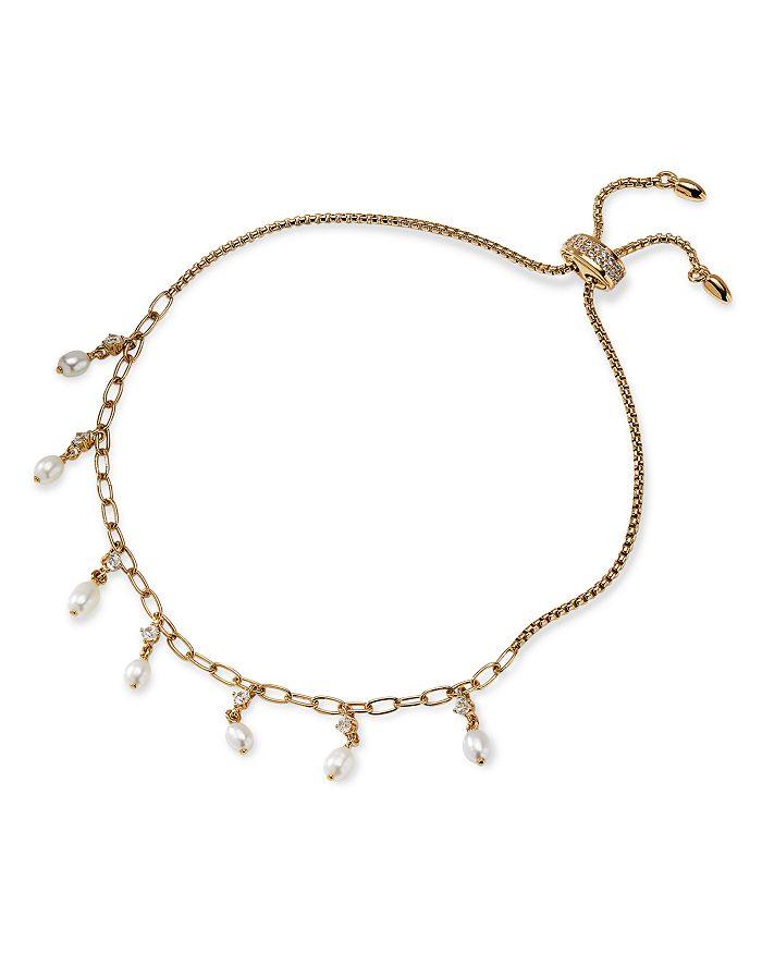 Nadri - Nectar Cultured Freshwater Pearl Shaky Bolo Bracelet