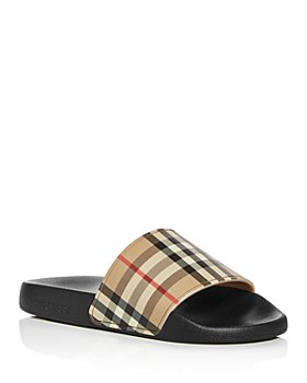 Burberry - Women's Furley Vintage Check Slide Sandals