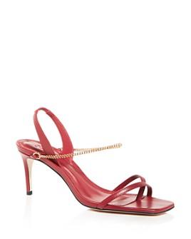 SCHUTZ - Women's Yareli Slingback Square-Toe Sandals