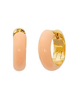 kate spade new york - Candy Drops Enamel Huggie Hoop Earrings