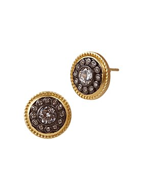 Freida Rothman - Nautical Button Stud Earrings
