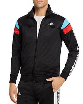 KAPPA - 222 Banda Merez Color-Blocked Logo-Taped Slim Fit Track Jacket