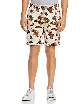 Scotch & Soda - Tropical-Print Slim Fit Shorts