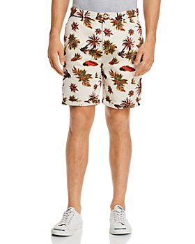 Scotch & Soda - Tropical-Print Slim Fit Shorts