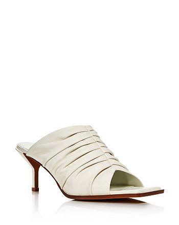 3.1 Phillip Lim - Women's Georgia Ruched Mule Sandals