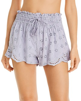 Surf Gypsy - Eyelet Shorts Swim Cover-Up