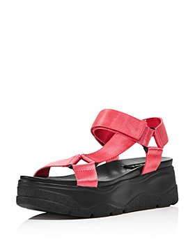 AQUA - Women's Sun Strappy Wedge Sandals - 100% Exclusive