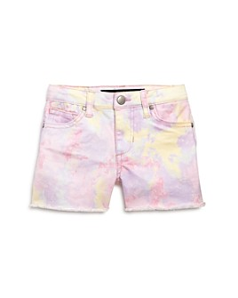 Joe's Jeans - Girls' Chloe Tie-Dyed Denim Shorts, Big Kid - 100% Exclusive