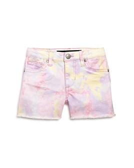 Joe's Jeans - Girls' Chloe Tie-Dyed Denim Shorts, Little Kid - 100% Exclusive