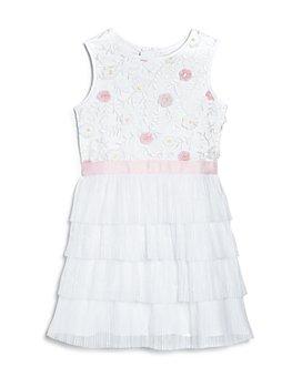 BCBG GIRLS - Girls' Floral Tiered Dress - Big Kid