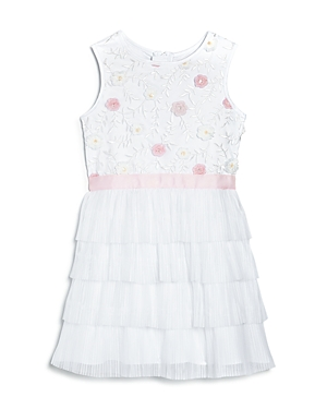 BCBGirls Girls' Floral Tiered Dress - Little Kid