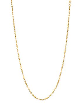 Bloomingdale's - Diamond Bezel-Set Necklace in 14K Yellow Gold - 100% Exclusive