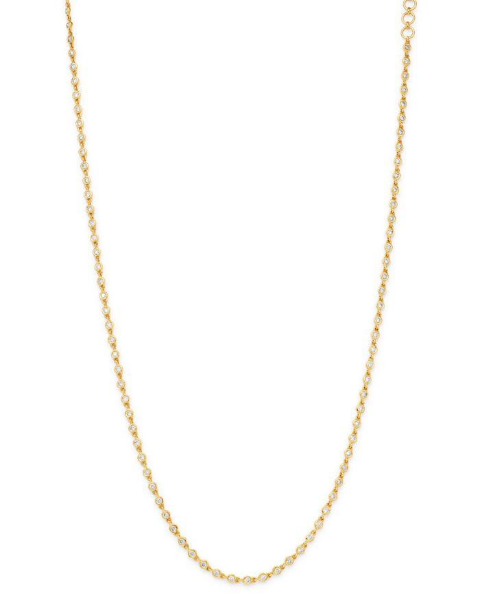 Bloomingdale's Diamond Bezel-Set Necklace in 14K Yellow Gold - 100% Exclusive    Bloomingdale's