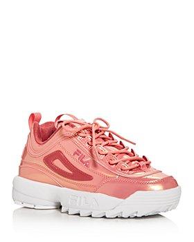 FILA - Women's Disruptor II Liquid Luster Low-Top Sneakers