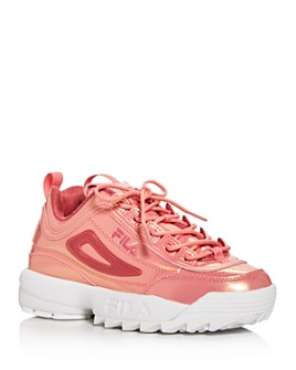 FILA - Women's Disruptor II Liquid Luster Low-Top Sneakers