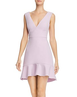 BCBGMAXAZRIA - Flounce-Hem Mini Dress - 100% Exclusive