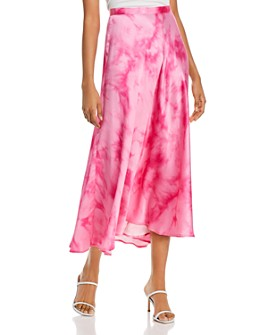 GUESS - Arielle Printed A-line Skirt