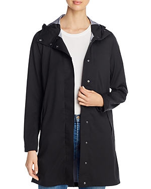 Save The Duck Mid-Length Hooded Coat-Women