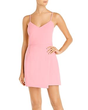 Whisper Sleeveless Asymmetric Hem Mini Dress