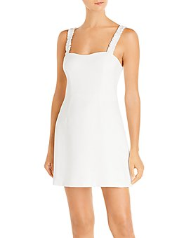 FRENCH CONNECTION - Frill Sleeveless Mini Dress