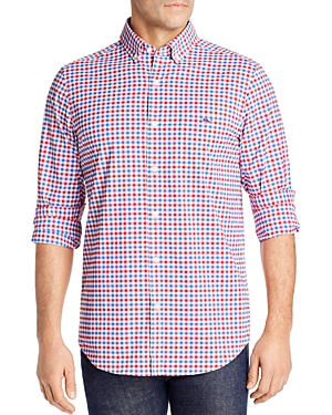 Vineyard Vines Checked Grouper Tucker Classic-Fit Button-Down Shirt-Men
