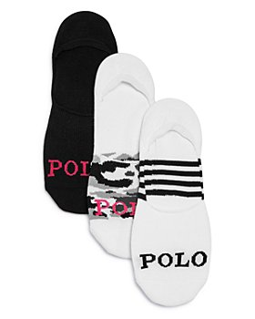 Ralph Lauren - Lightweight Mesh Liner Socks, Pack of 3