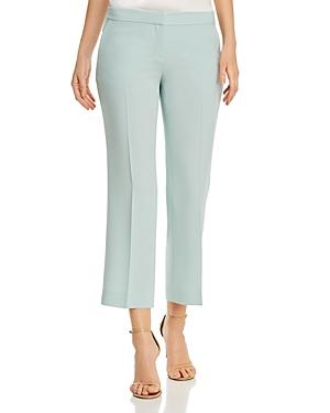 Lafayette 148 New York Manhattan Crop Flare Pants-Women