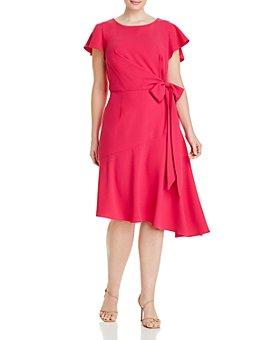 Adrianna Papell Plus - Divine Crepe Draped Dress