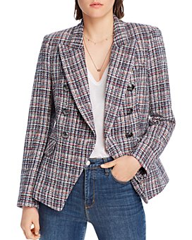 LINI - McKenzie Tweed Double-Breasted Blazer - 100% Exclusive