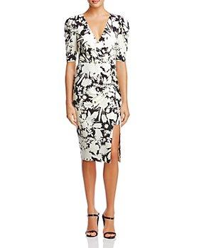 Bailey 44 - Aurora Floral Print Puff-Sleeve Dress