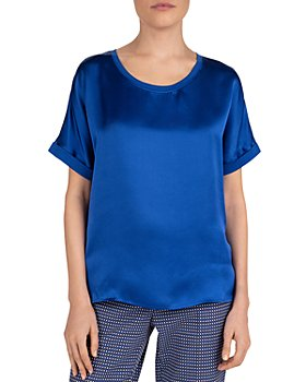 Gerard Darel - Juliane Silk-Front Top